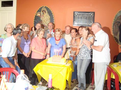 Celebración del noveno aniversario de la entidad.