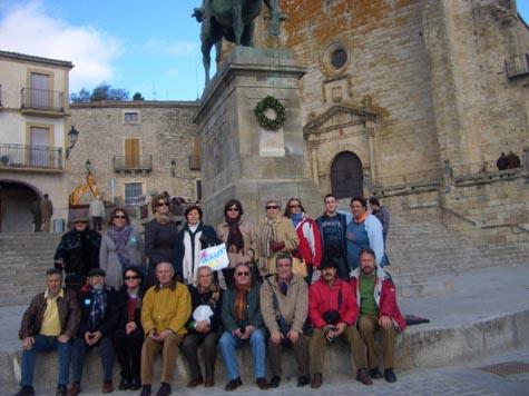 Los asociados visitaron Trujillo.