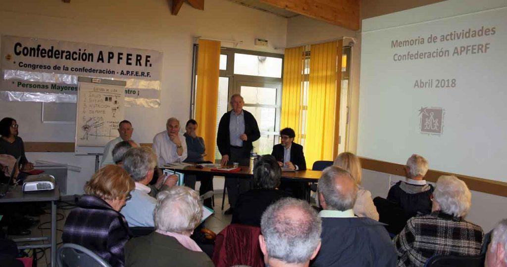 José María Oliver presentó la memoria de actividades.