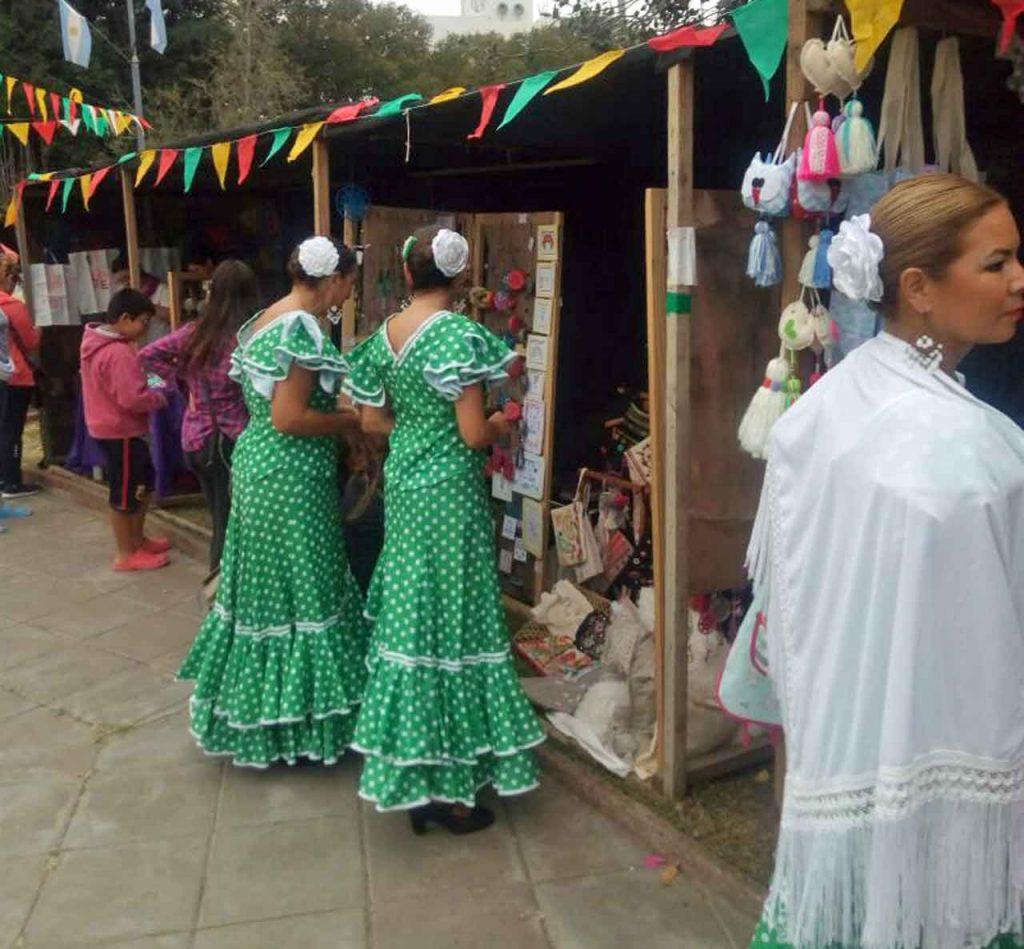 Una imagen de la Feria de Abril de Tres Arroyos.