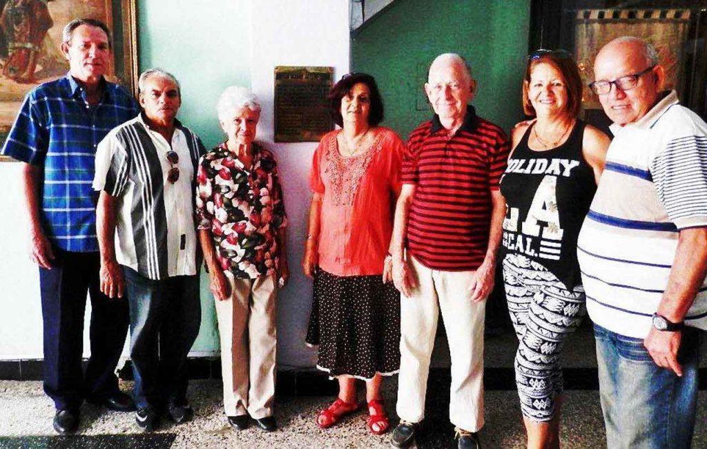 Como recuerdo del 20 aniversario de la sede social de la Ascyl, se colocó una placa conmemorativa.