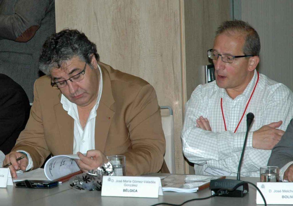 Marco Antonio de Lera García y José María Gómez-Valadés.