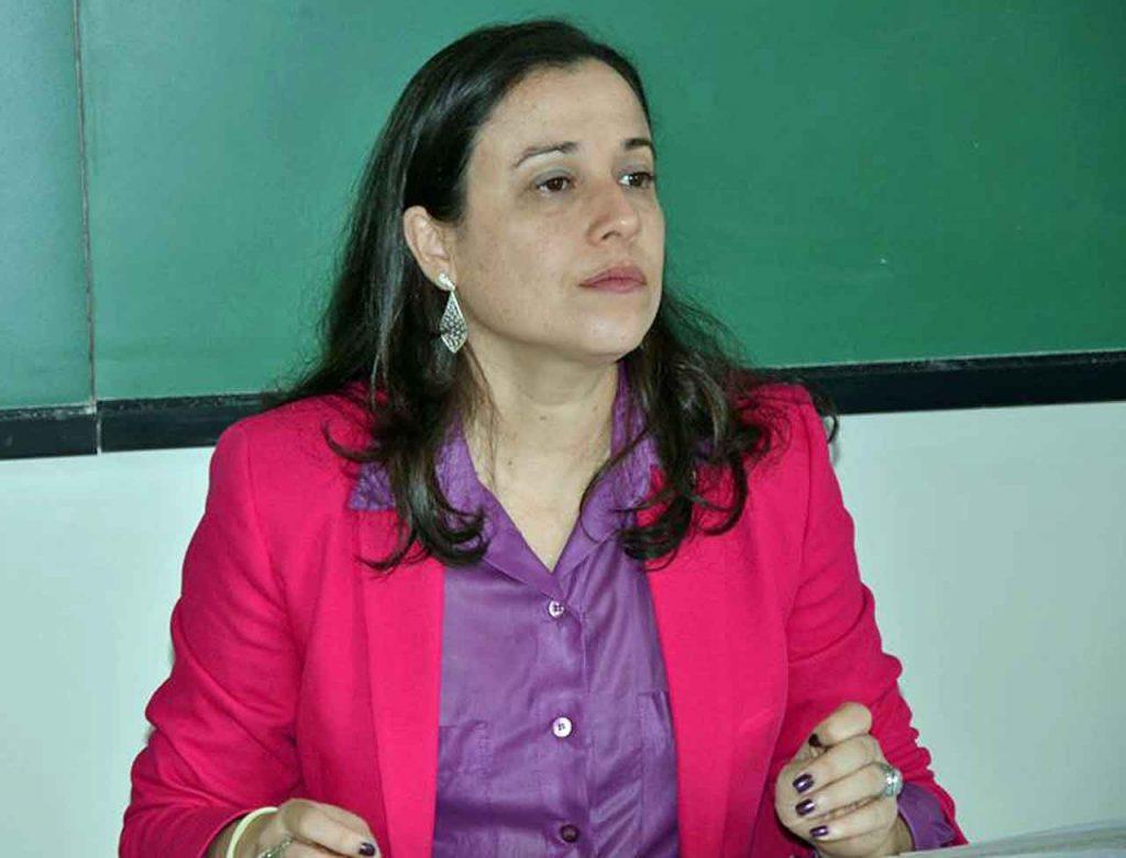 Érica Sarmiento.