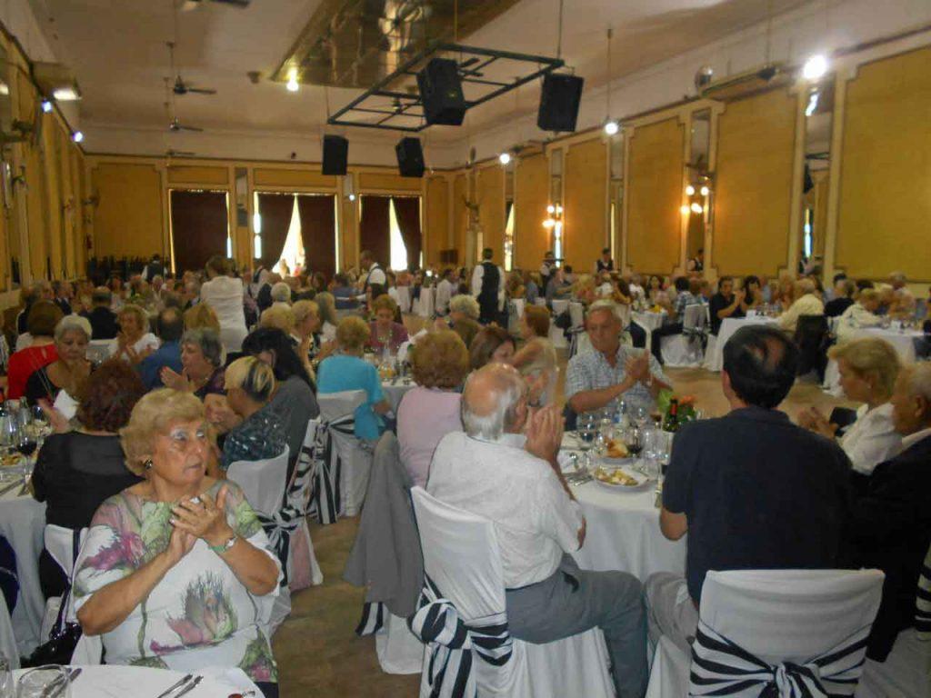 Más de 250 personas asistieron a la celebración.