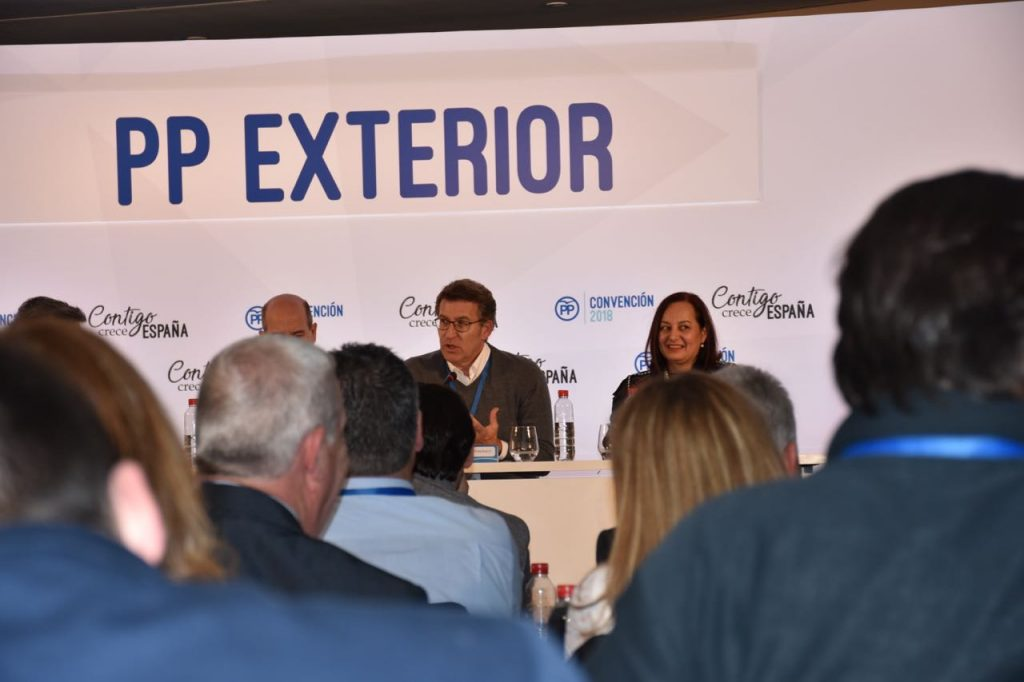 Intervención del presidente del PP de Galicia, Alberto Núñez Feijóo.