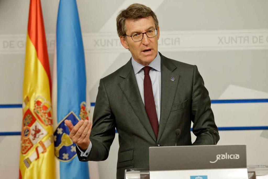 Alberto Núñez Feijóo presentó la nueva iniciativa  Estratexia Retorna 2020.