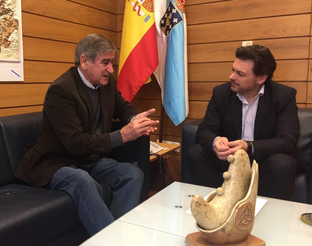 Manuel Míguez y Antonio Rodríguez Miranda.