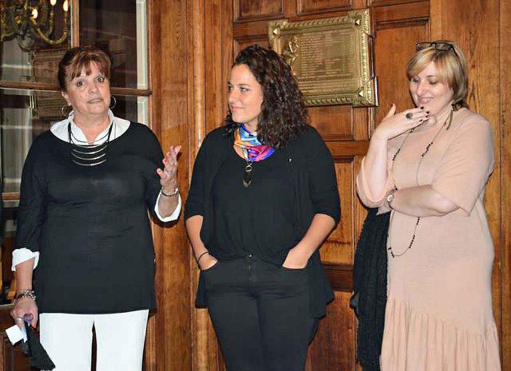Hebe Mabel Otero, Romina Frarnceschin e Inés Martínez.