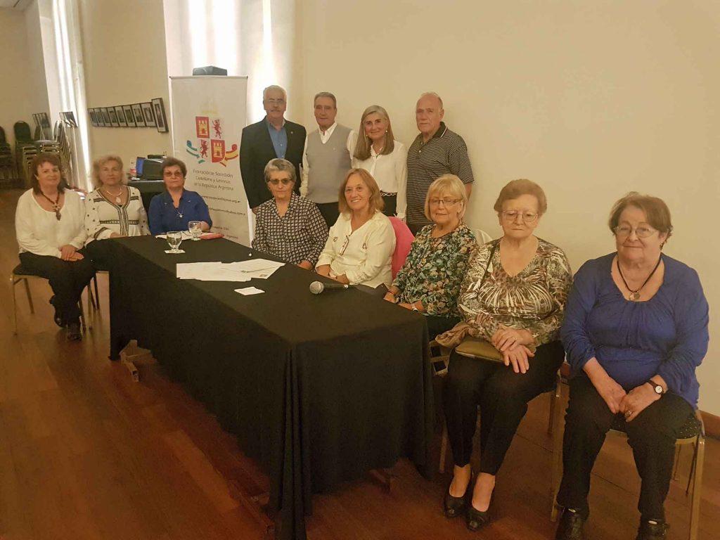 Las mujeres compartieron emotivos recuerdos de Castilla y León.