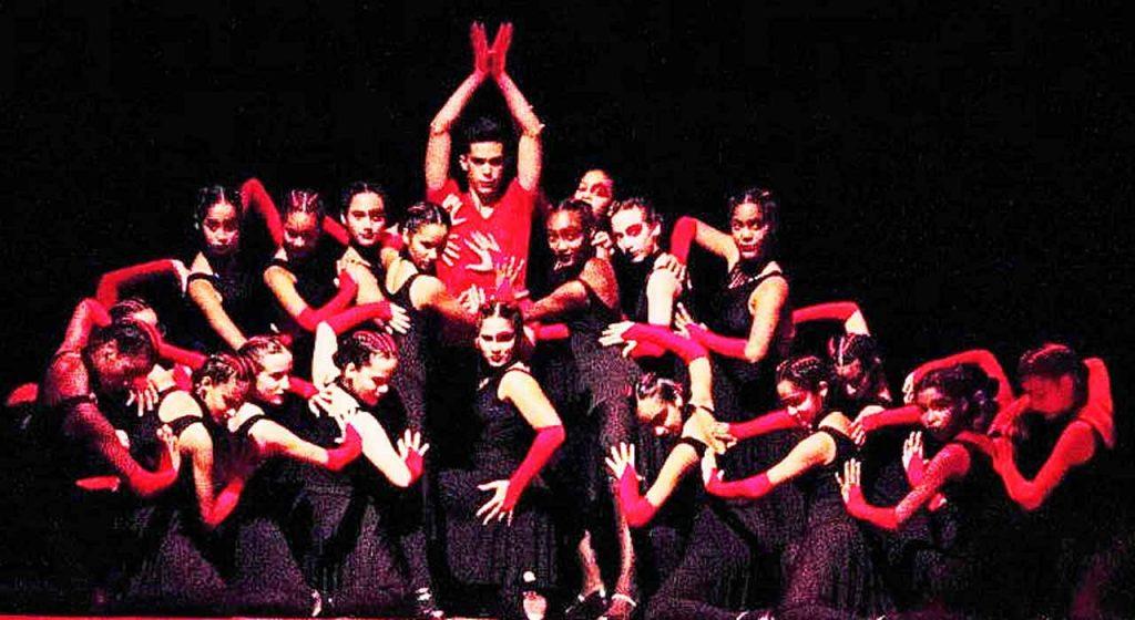La coreografía 'Demonios' obtuvo el primer puesto.