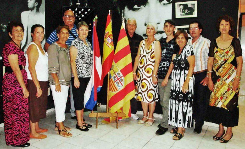 Junta Directiva de la Sociedad Aragonesa de Beneficencia.