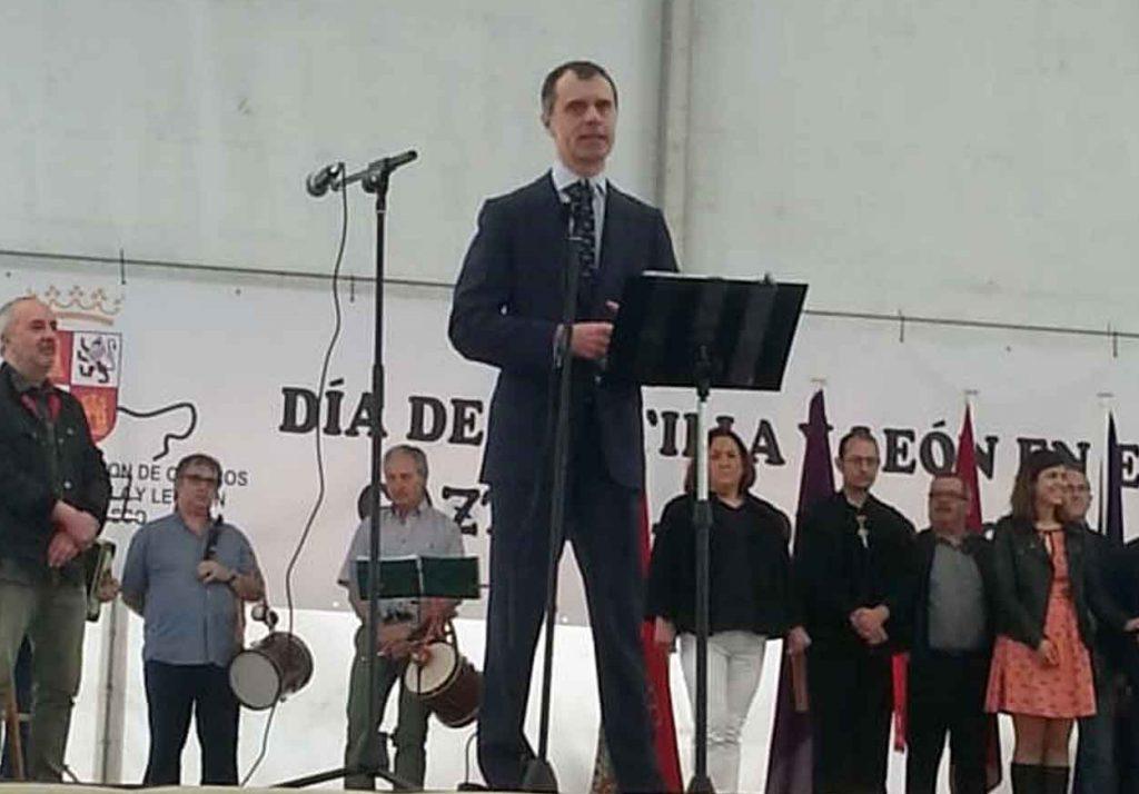 José Manuel Herrero se dirigió a los asistentes.