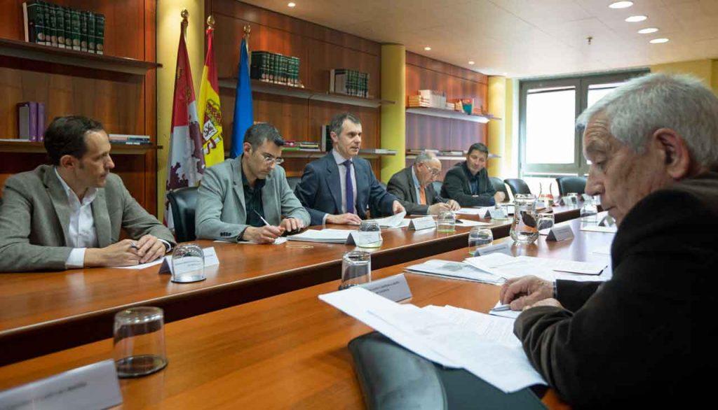 José Manuel Herrero presidió la reunión.
