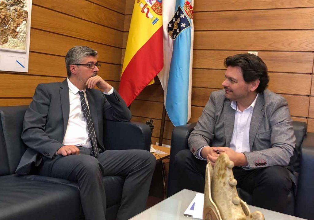 Ildefonso de la Campa y Antonio Rodríguez Miranda.