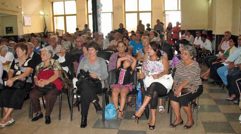 Participantes en la celebración del DLG en la ciudad cubana de Matanzas.