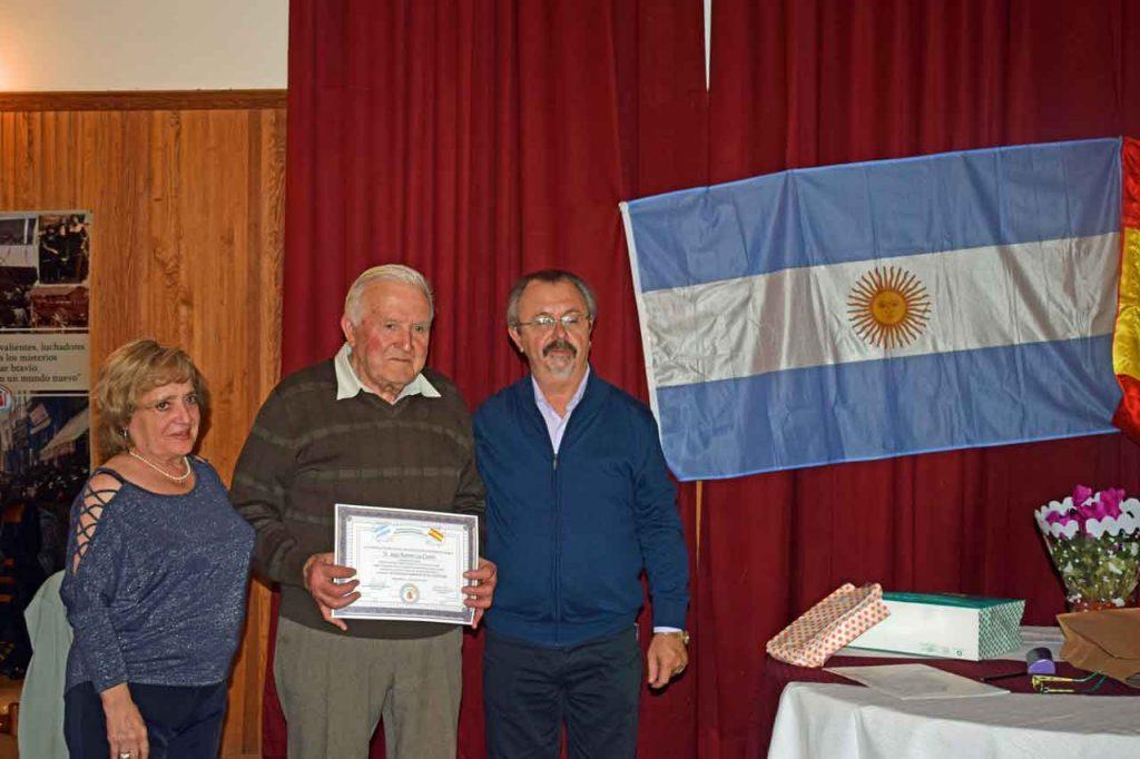 Amparín Suay, Jesús Ramón Lus Contín y Eduardo Ríos.