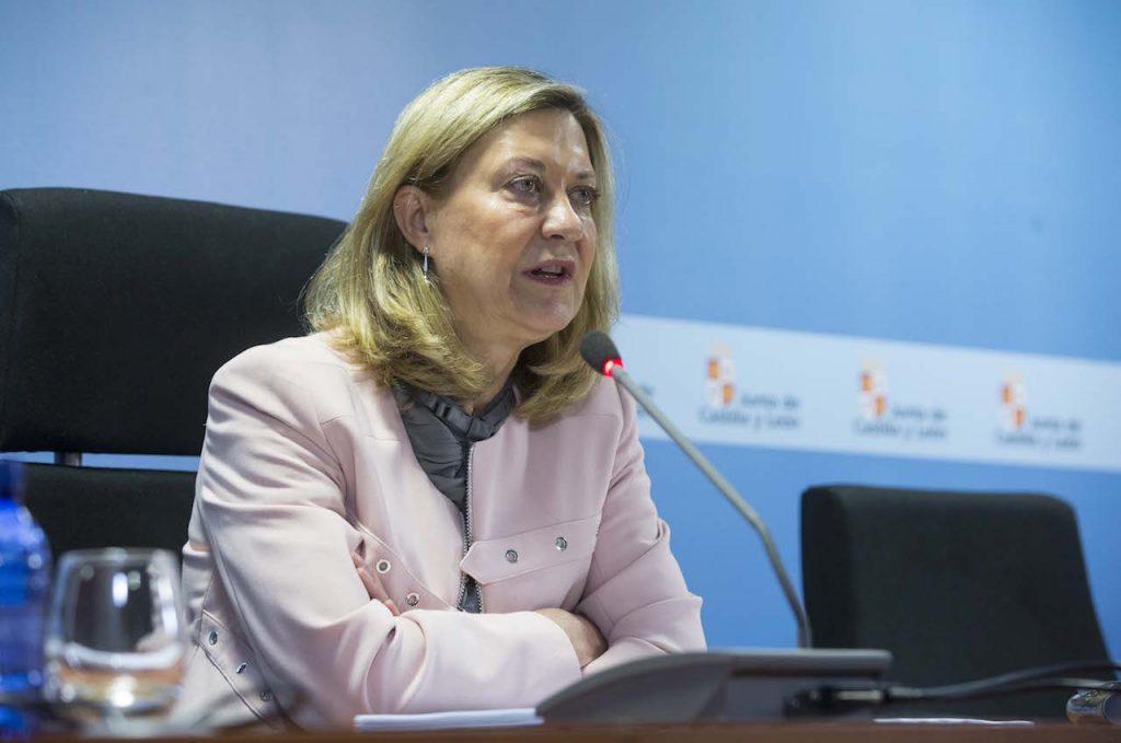 La consejera de Economía y Hacienda, Pilar del Olmo, presentó los datos de la contabilidad regional el pasado 6 de junio.