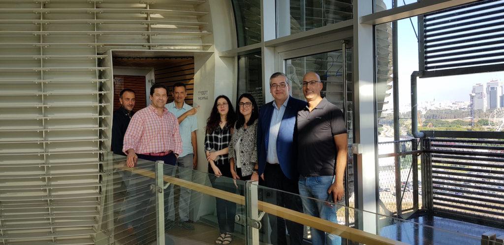 La delegación tecnólogica del CTAG en Israel.
