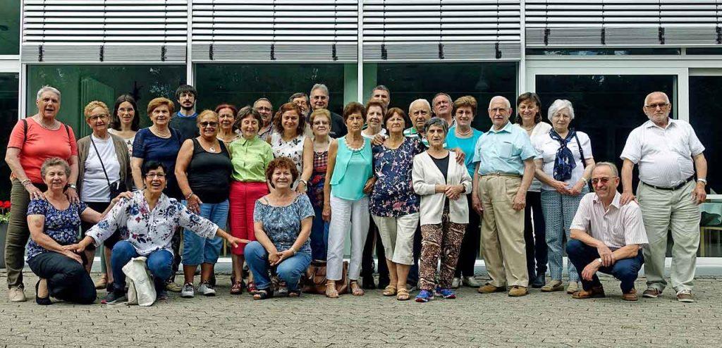 Grupo de participantes en el segundo seminario del año del programa ¡Adentro!