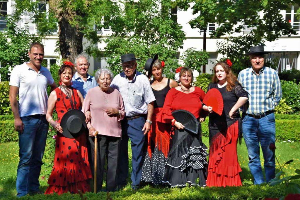 Algunos de los participantes.