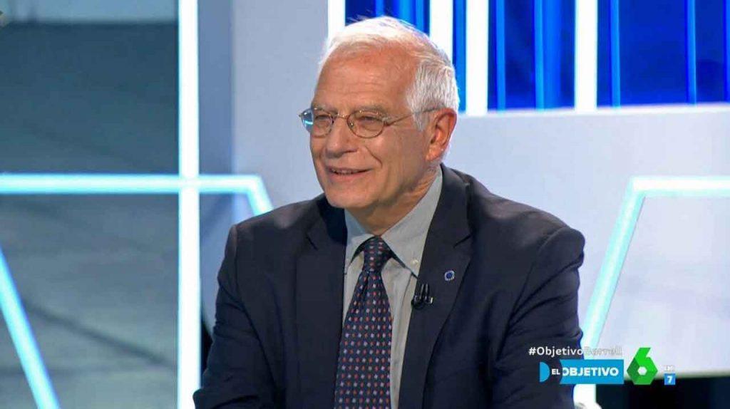 Jospe Borrell en un momento de la entrevista.
