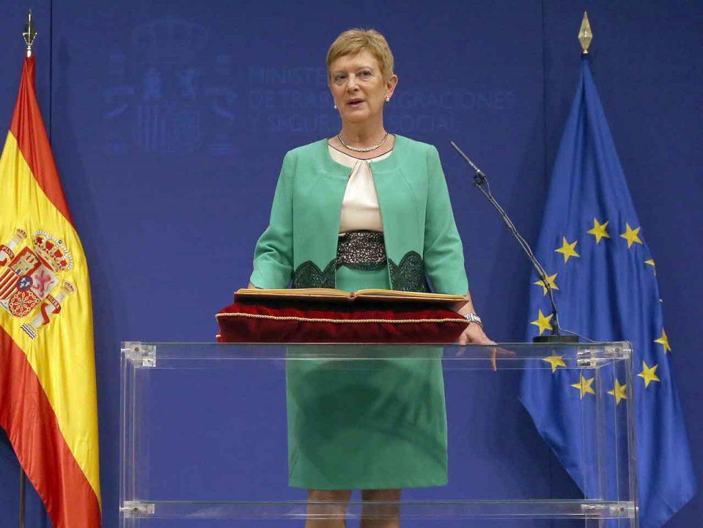 Consuelo Rumí tomó posesión de su cargo como secretaria de Estado de Migraciones.