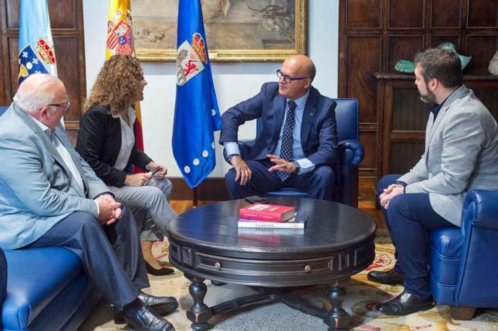 Luis González Tosar, Lorena Lores, José Manuel Baltar y Diego Martínez Duro.