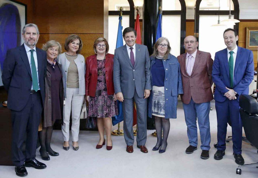 Manuel Mario Vigil, Marifé Garcia Tuñón, María José García, María Luisa Iglesias, Javier Fernández, Dolores Olavarrieta, Miguel Ángel Pico y  Guillermo Martínez.