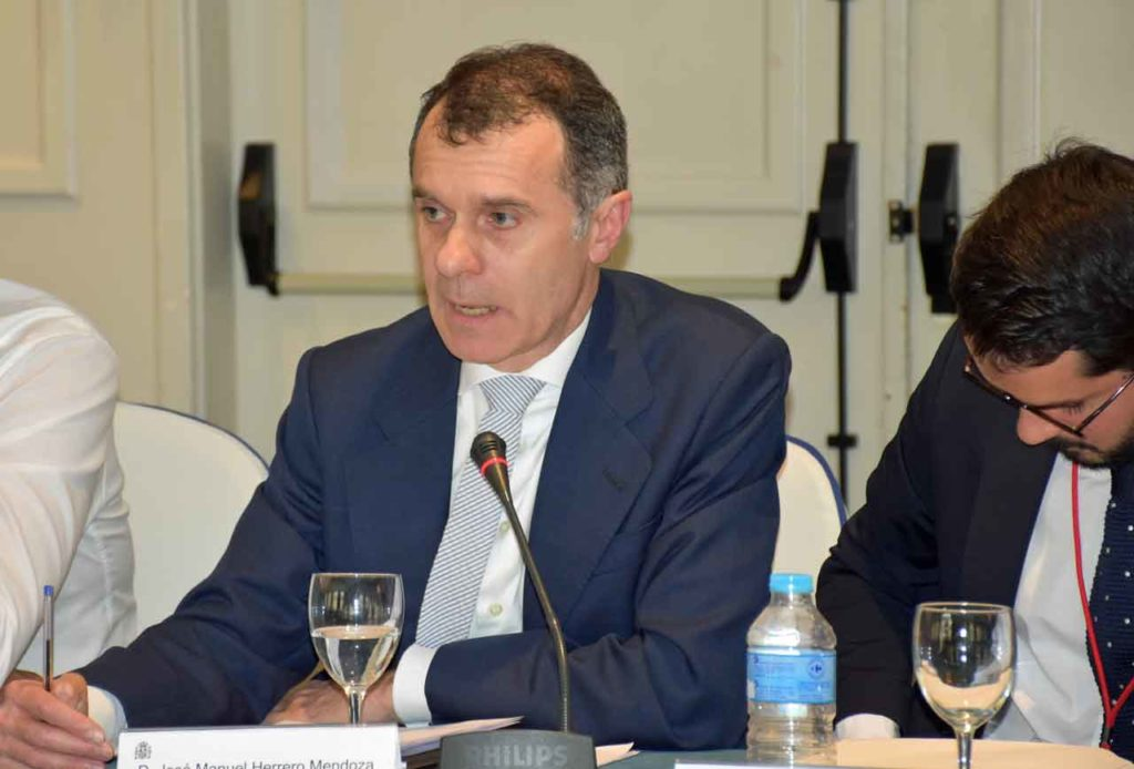 José Manuel Herrero en el II Pleno del VII Mandato del CGCEE.