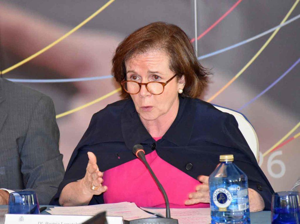 Intervención de Beatriz Larrotcha.