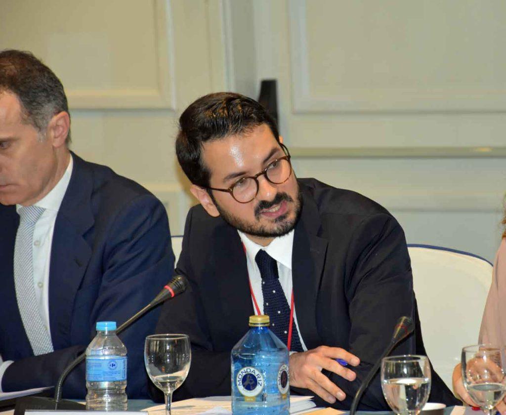 Ignacio Javier García Gimeno en el II Pleno del VII Mandato del CGCEE.