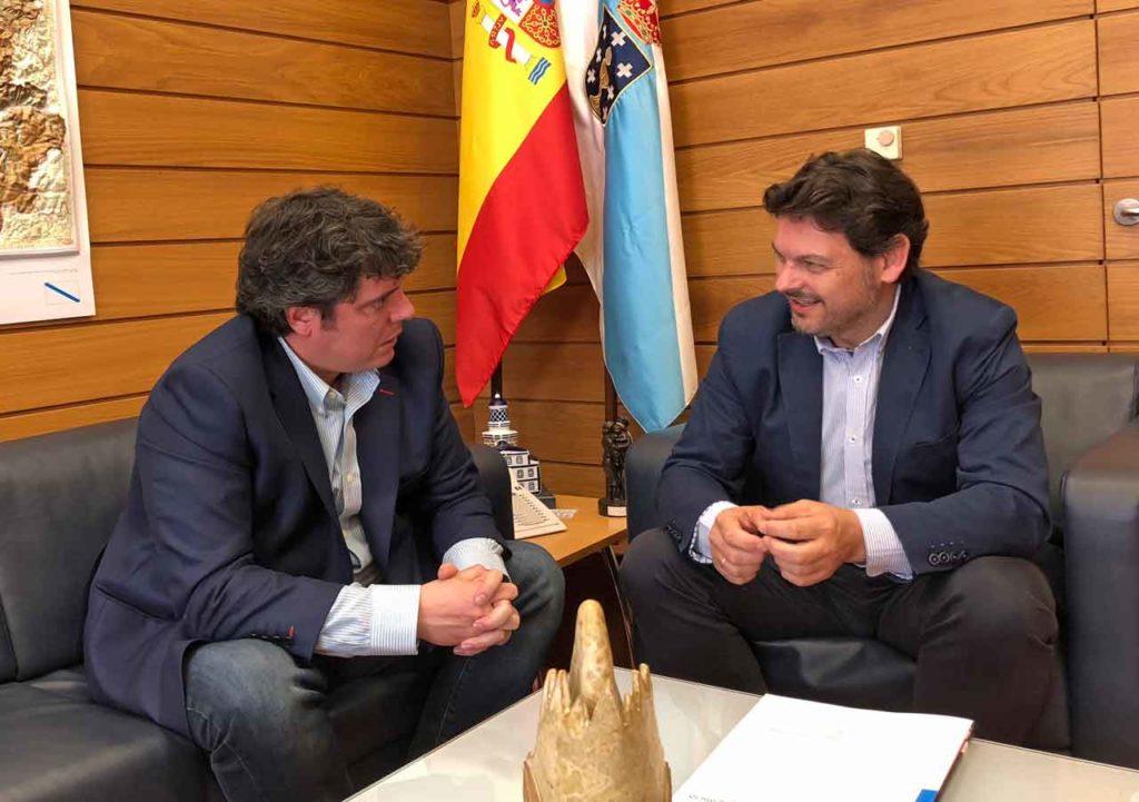 Carlos Mandianes y Antonio  Rodríguez Miranda.