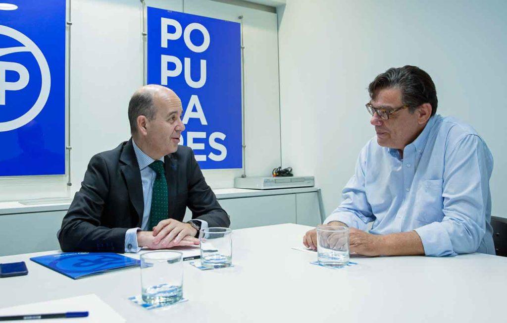 Ramón Moreno y  Carlos López Turconi.