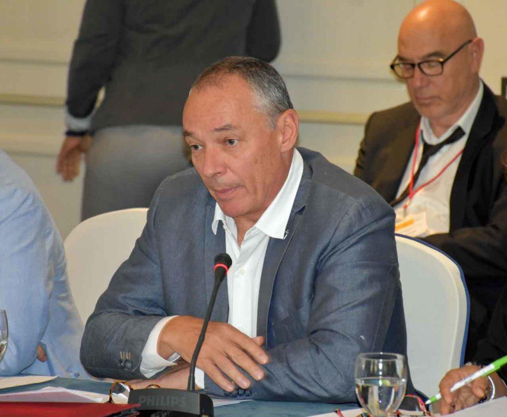 Luis Guillermo Padilla en el II Pleno del VII Mandato del CGCEE.