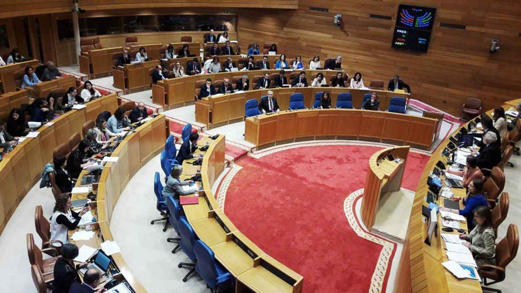 Sesión del Parlamento de Galicia del pasado 5 de junio.