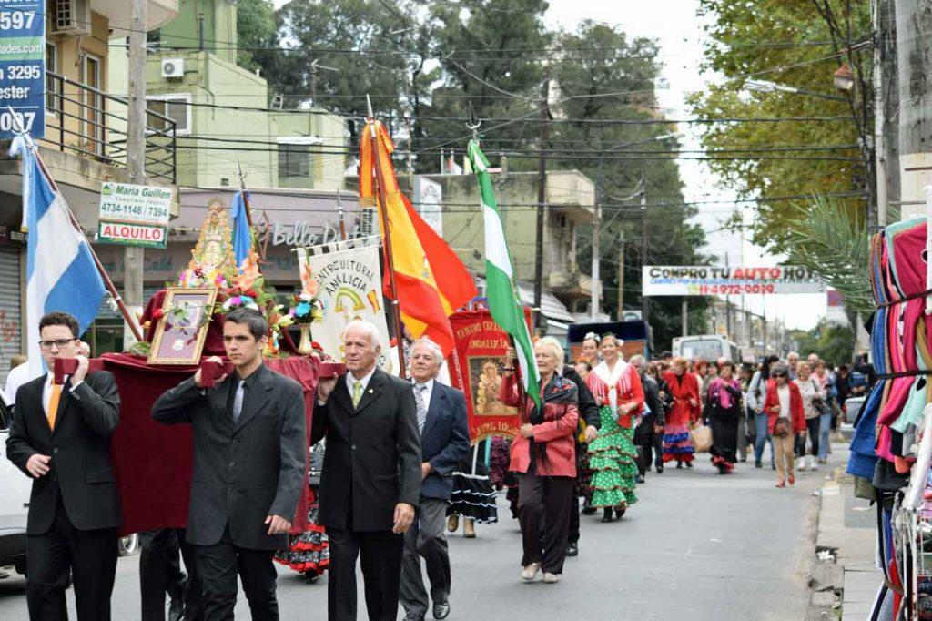 Imagen de la procesión.