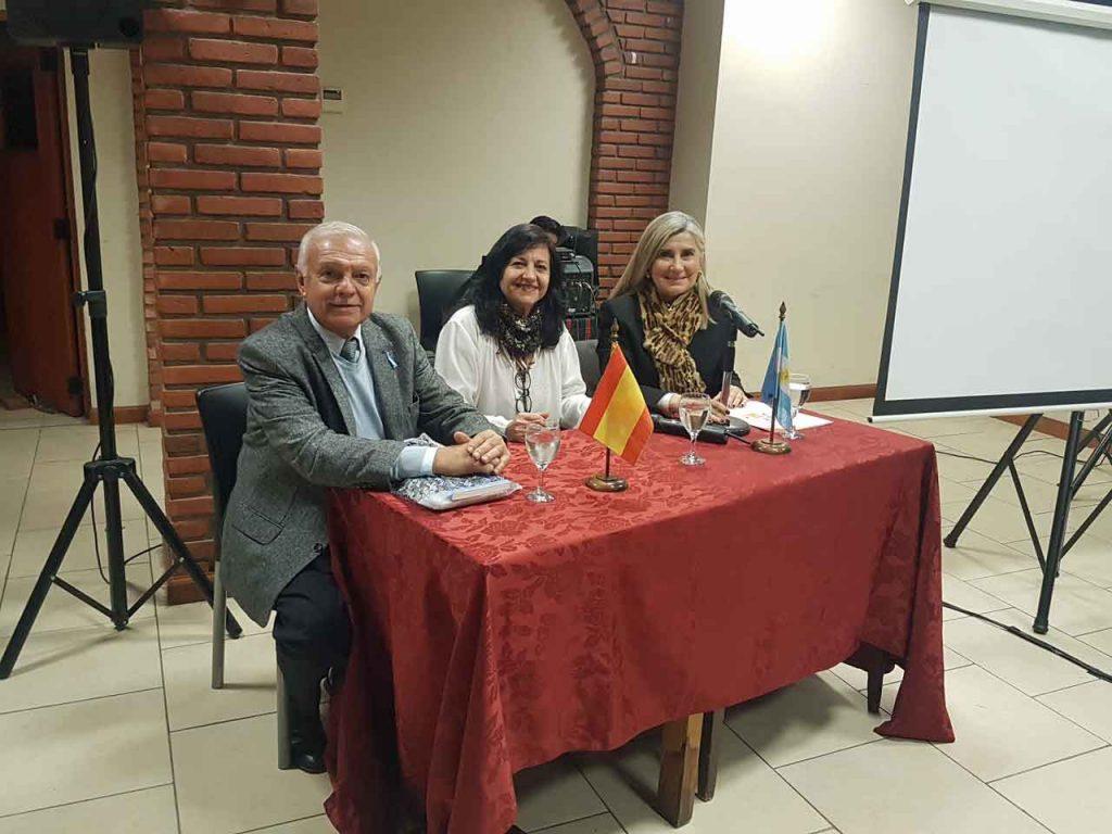 Joaquín Rebollo, Liliana Acosta y Liliana Fuentes Astorga.