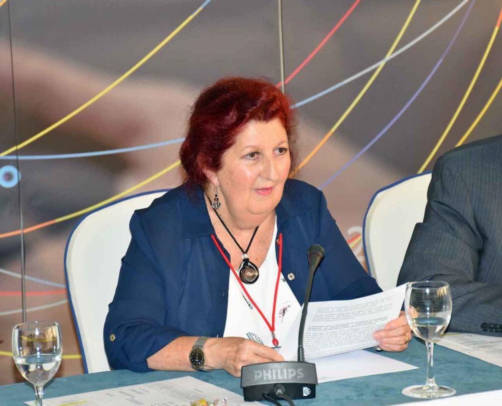 María Jesús Vázquez Tiscar, consejera por Canadá y presidenta de la Comisión de Jóvenes y Mujeres.