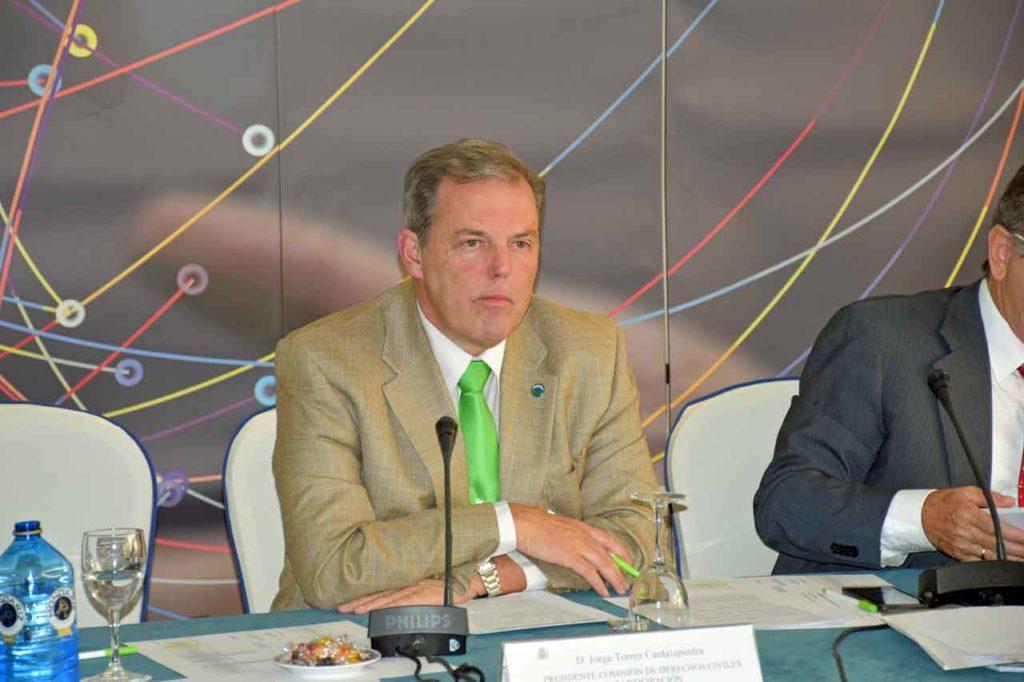 Jorge Torres, consejero por Uruguay, presentó las propuestas en materia de derechos civiles y participación.
