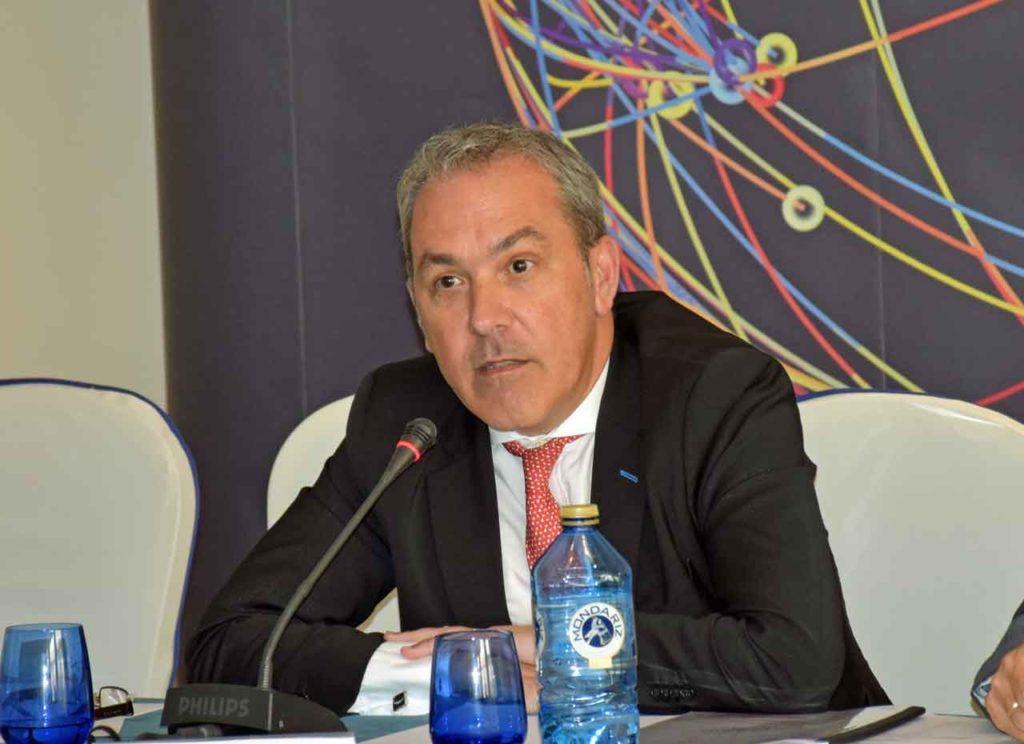 Agustín Torres, en el Pleno del CGCEE el pasado 26 de junio.