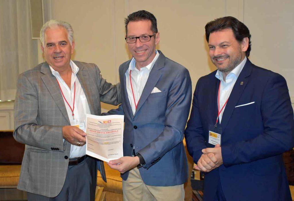 José Gil Doval, Roberto González y Antonio Rodríguez Miranda.