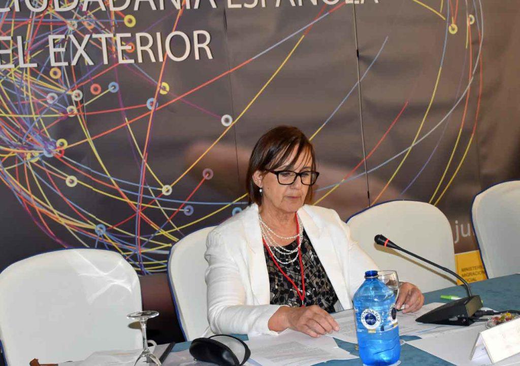 Intervención de Yolanda Gómez Echevarría.