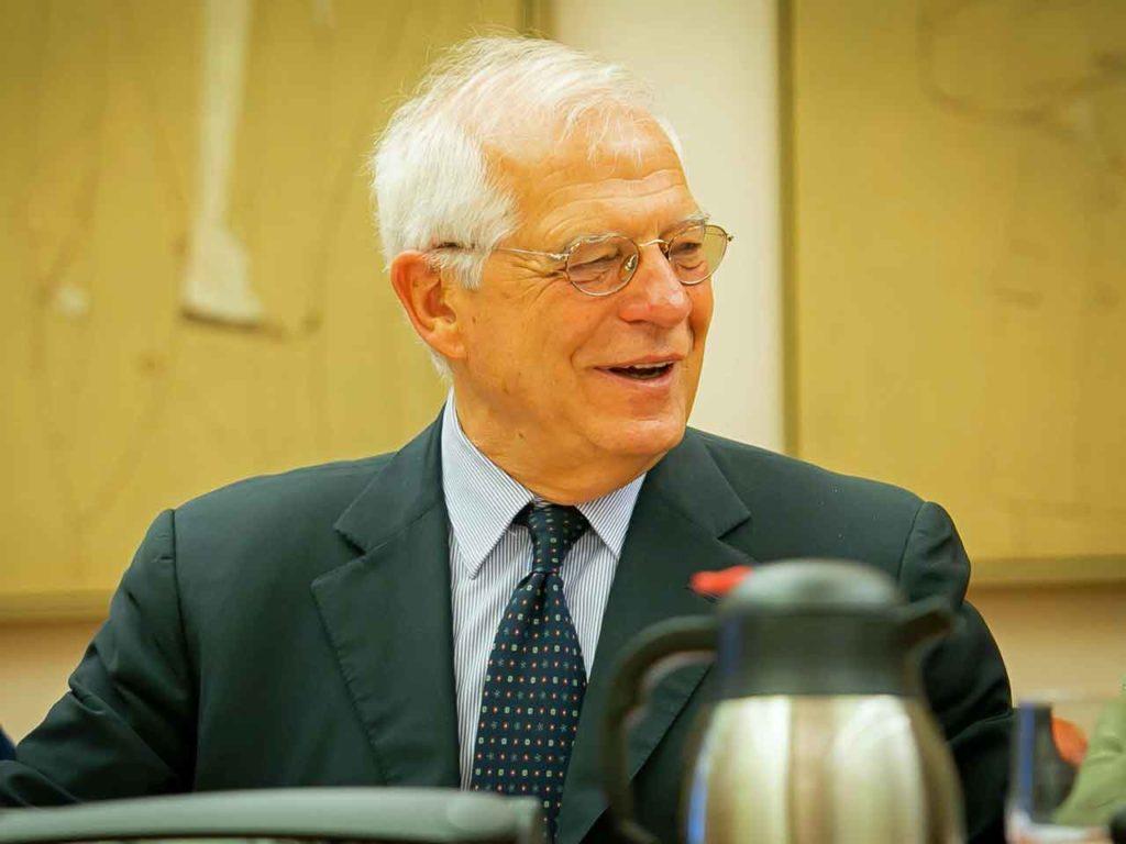 Josep Borrell compareció ante la Comisión de Asuntos Exteriores del Congreso.