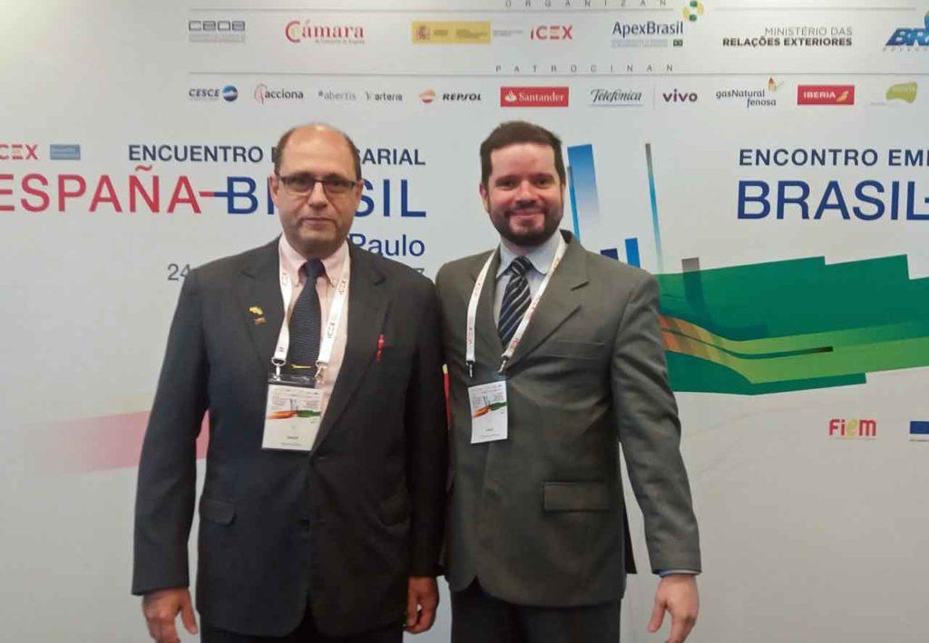 Ricardo Álvarez y Felipe Pousada del FEHB-SP.