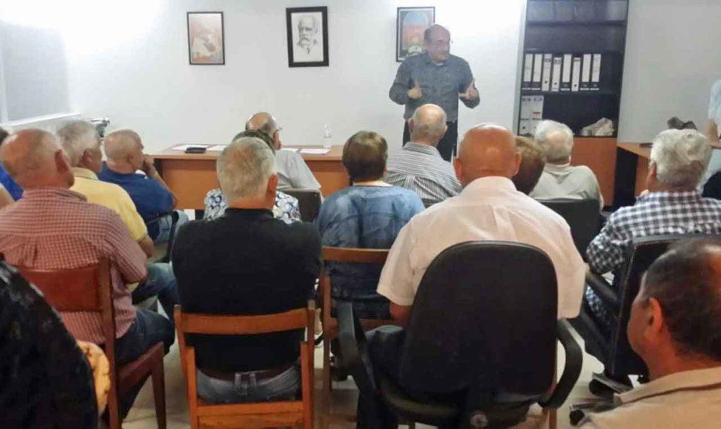 Reunión celebrada en Celanova.