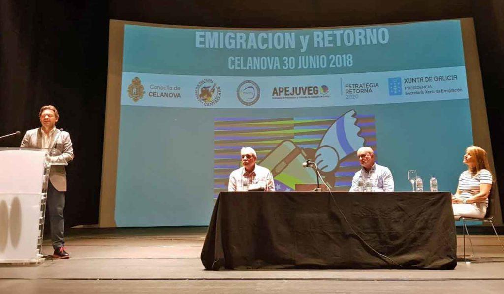 Intervención de Rodríguez Miranda en las jornadas.