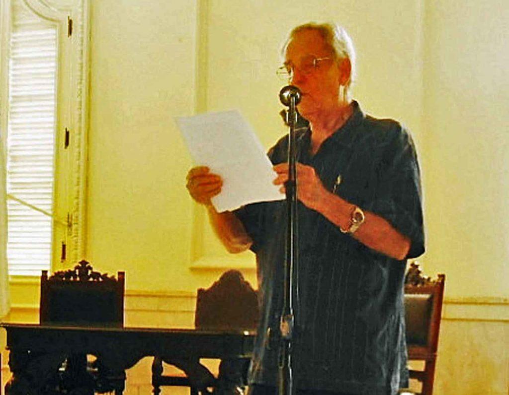 Blas Nabel Pérez Camejo impartió la conferencia.