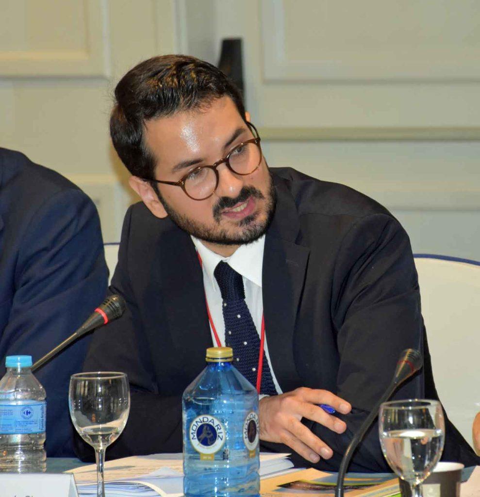 El director general de Asuntos Europeos y Cooperación con el Estado de la Comunidad de Madrid, Ignacio Javier García Gimeno.