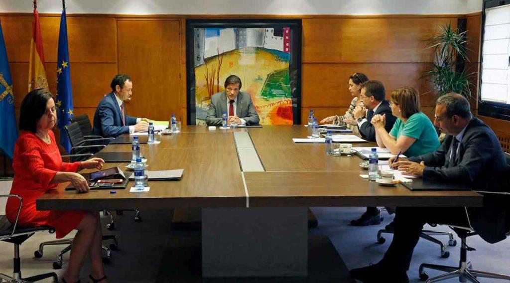 Reunión del Consejo de Gobierno del Principado de Asturias del miércoles 18 de julio.