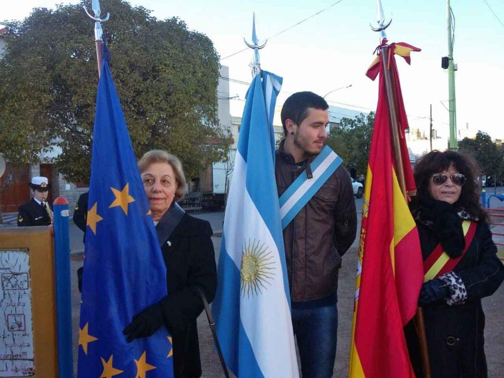 Nélida de la Iglesia, Marcelo Toy Elgueta y Liliana Flores.